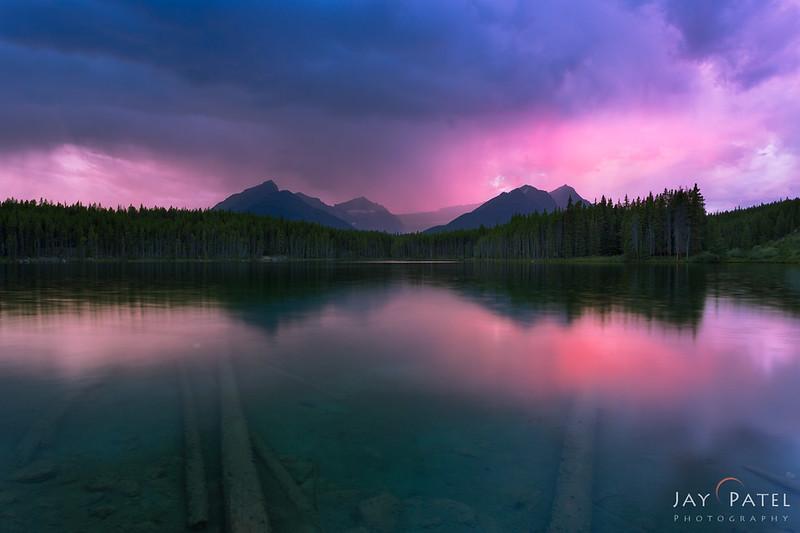 Herbert Lake, Banff National Park, Alberta, Canada