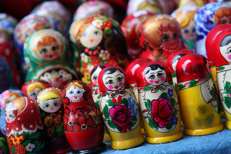 Nesting dolls are a Russian icon. They come in all shapes, sizes, and styles.
