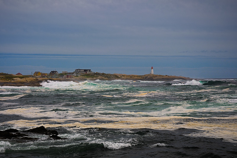 Hurricane Katya churns up Peggy's Cove