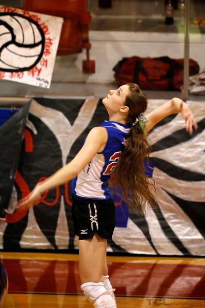 Hallie V-ball 10/01/2010