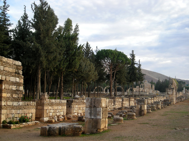 Aanjar.  The best preserved Islamic / Umayyad archeological site in Lebanon.  Located in the Bekaa Valley, the site dates to 700 AD.