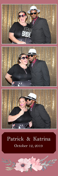 Patrick & Katrina Wedding Photo Booth Pictures 10.12.2019