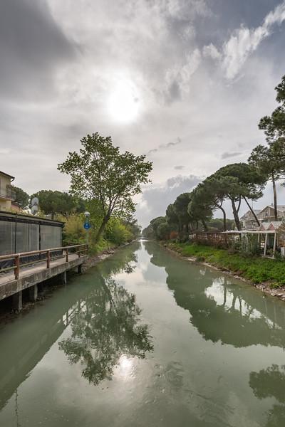 Canalino (Canale del Pino) - Milano Marittima, Cervia, Ravenna, Italy - April 24, 2019