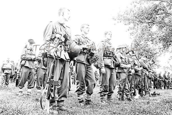 Midway Village Rockford WWII Event 2016