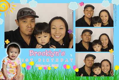 Brooklyn's 1st Birthday (Luxury Photo Booth)