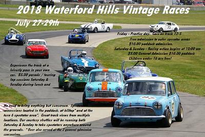 2018 Waterford HIlls Vintage