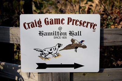 Quail and Pheasant Hunting at Craig Game Preserve