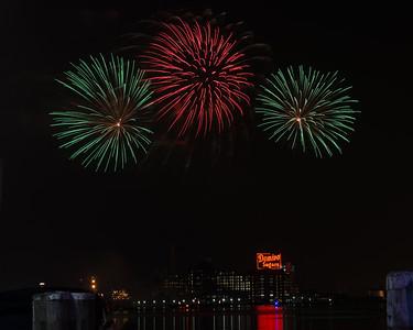 Inner Harbor Fireworks