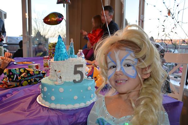 Gabby 5th Birthday party