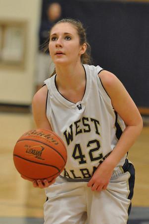 Dallas vs. West Albany Frosh/JV/Varsity Girls Basketball