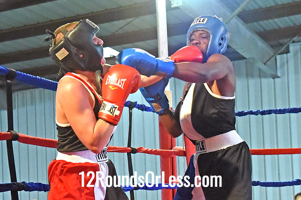 Bout 8 Armond Richard, Zelma George/Empire -vs- Niko Froce, Foundation BC, 141 lbs, Novice