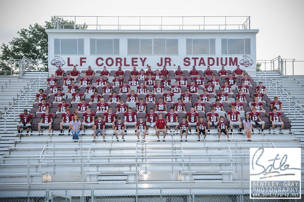 BHS Football Team Portraits 2012