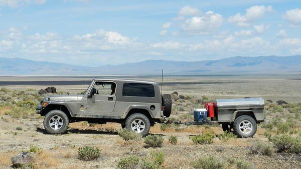 Nevada Air Mail Beacon/Geocaching Trip May 23-25, 2014 (AW100)