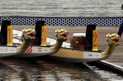 Dragon Boat race in Putrajaya