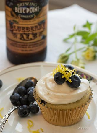 Blueberry Ale Blueberry Cupcakes - Catalog #4058