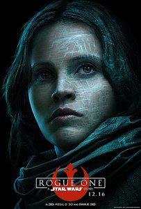Awesome character posters released for ROGUE ONE