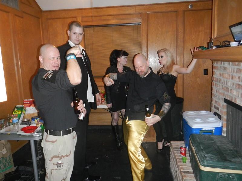 Mark, Patrick, Amber, Allen, Courtney