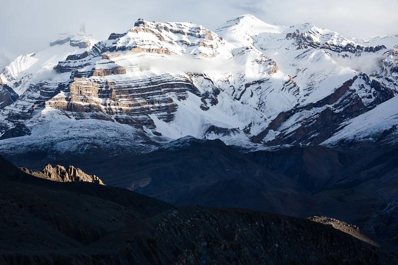 Himalayas. Near Dhankar, Spiti Valley, Himachal Pradesh, India