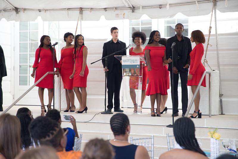 Duke Ellington Jazz Choir. photo by Bruce Allen. LIFT Jazz Brunch