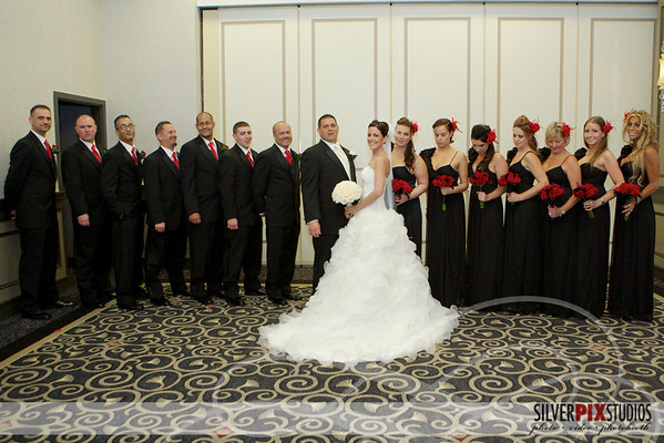 Formals with Bridal Party
