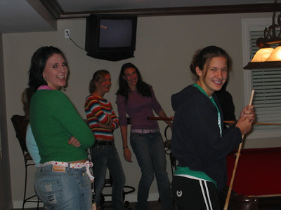 2005 Team Dinner - sanders