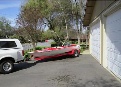 Mike Brundage Century Jet Boat