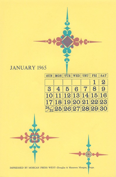 January, 1965, Morgan Press
