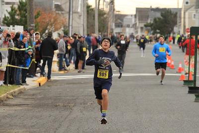 2017 Turkey Run 1 Mile Finish