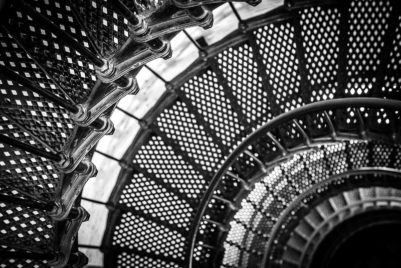 St. Augustine Lighthouse and Museum Circular Staircase