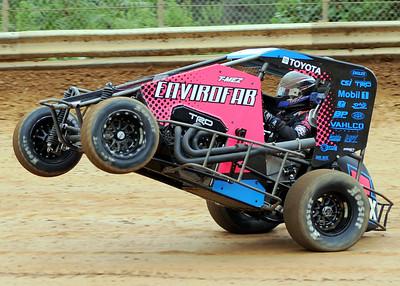 USAC Midgets - Clyde Martin Speedway - 8/7/21 - Lee Greenawalt