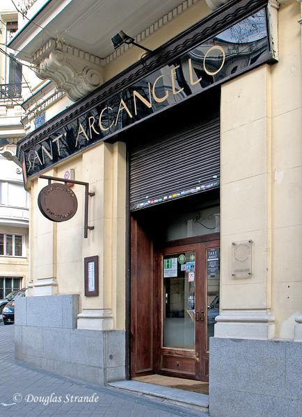 Sun 3/06 in Madrid: Restaurant Sant' Arcangelo