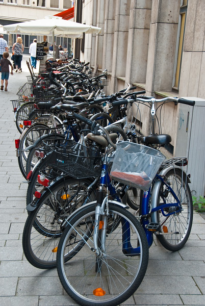 Bikes in Cologne