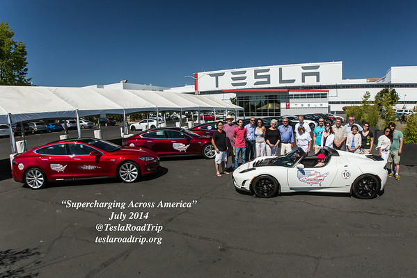 "TeslaRoadTrip ""Supercharging Across America 2014"""