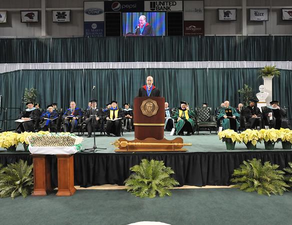 Marshall University Commencement- Dec. 2012