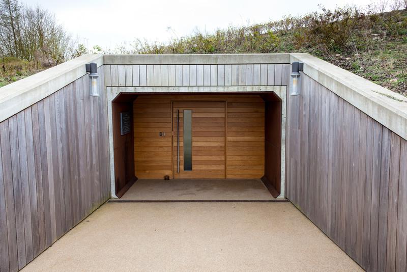 Entrance to Bunker
