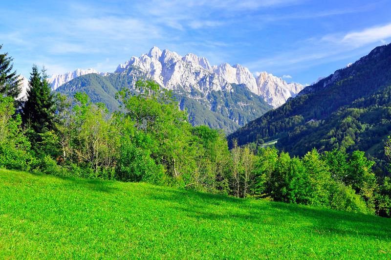 Julian Alps from Podkoren
