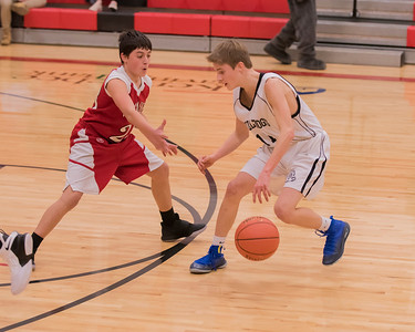 Dec 10 - Boys JV Basketball @ Hall-Dale vs Wiscasset