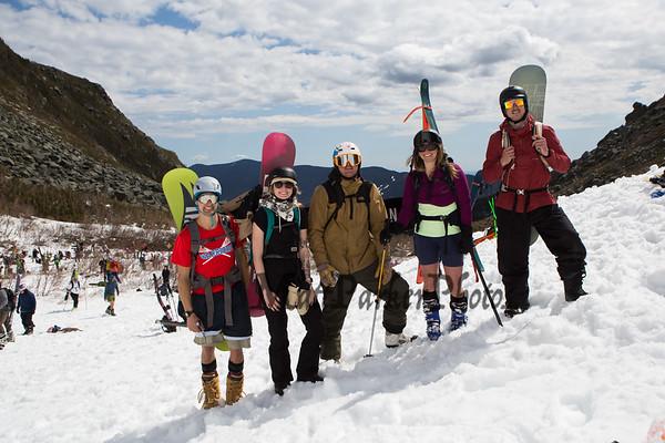 2021-4-10 Tuckerman's Ravine, Mount Washington