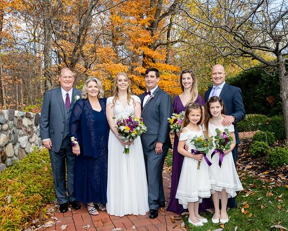 Chelsea Courtney and Tye Morris Wedding Day!