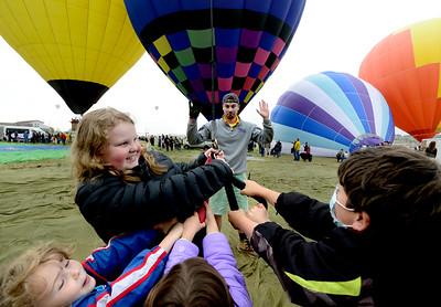 Photos: Balloon Launch at the Erie Town Fair and Hot Air Balloon Festival