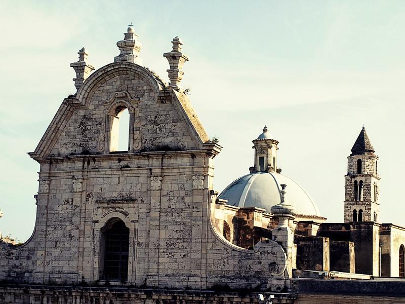 Building Facade at Convent in Piazza Plebiscito, Trani