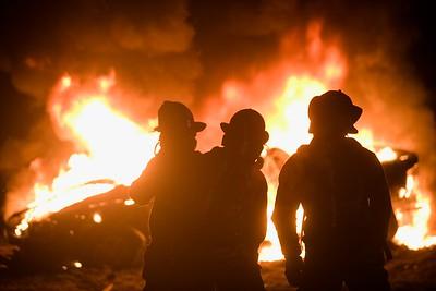 10/13 Car Fire Drill