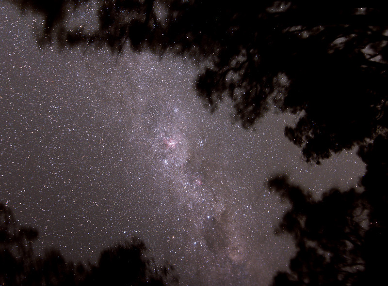 Milky Way around the Southern Cross - 6/2/2016 (Processed cropped stack)