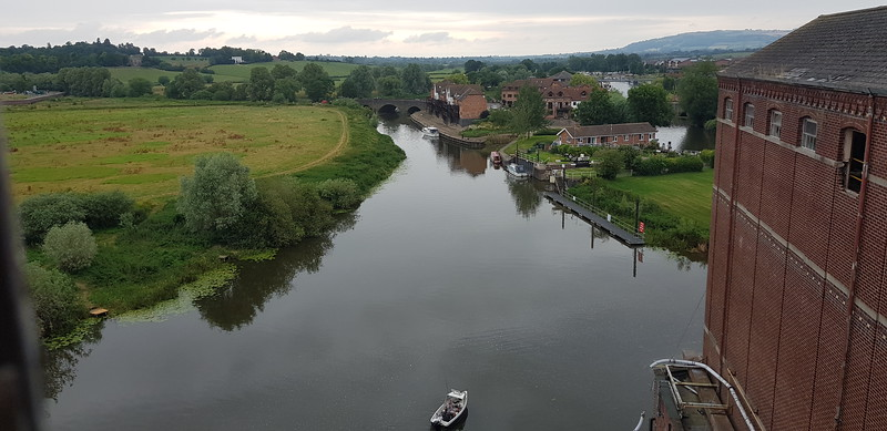 River Avon looking west.