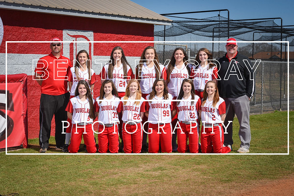 DHS Softball Team Pictures 2017