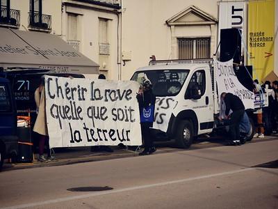 Jour de Manif - 16.01.21 - Chalon-sur-Saône