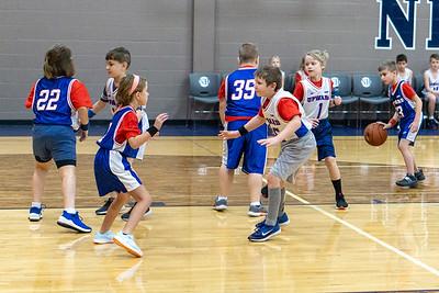 Robert's First Basketball Game