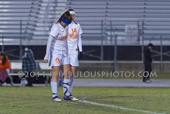 Ocoee @ Boone Girls Varsity Soccer - 2011