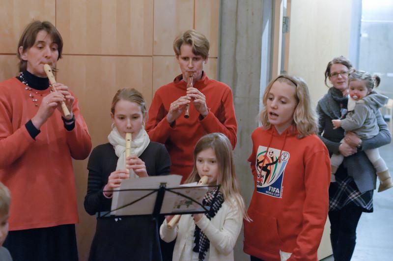 Zum Abschluss sangen wir noch ein Lied. es war wie immer ein schönes Fest!