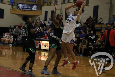GIRLS' BASKETBALL ■ vs. Cathedral — 3 . 8 - 2018